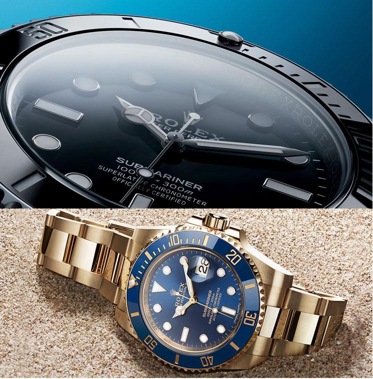 rolex-submariner diving watch