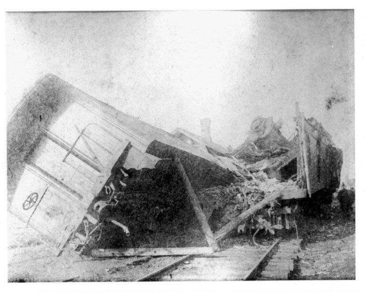 Great Kipton Train Wreck