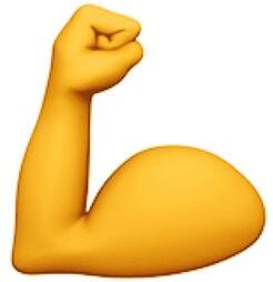 strong emoji