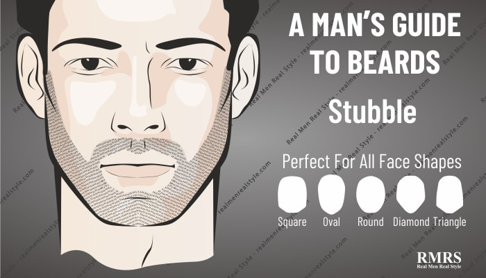 stubble more attractive