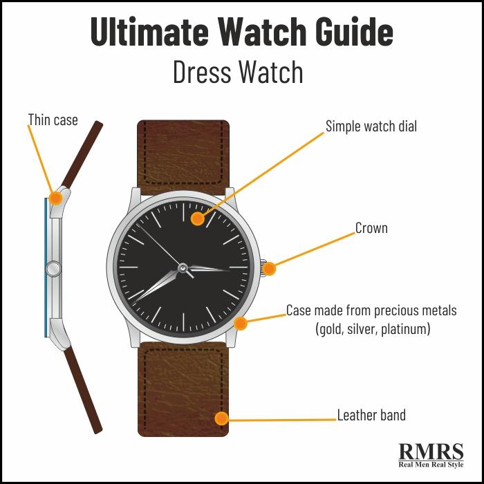 dress watch for men