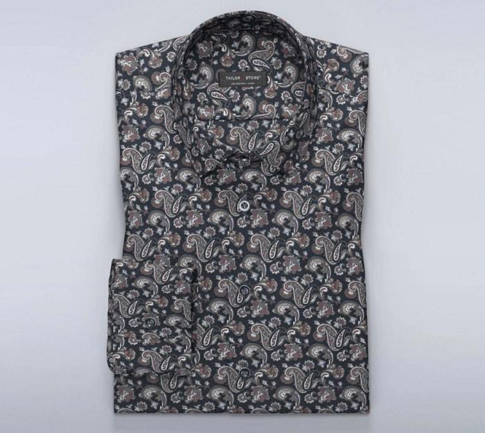 tailor store paisley shirt