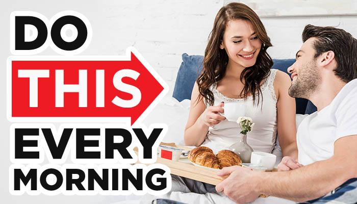 morning routine header