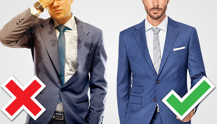 How To Wear A Suit In Hot Weather - Stop Sweating During Summer