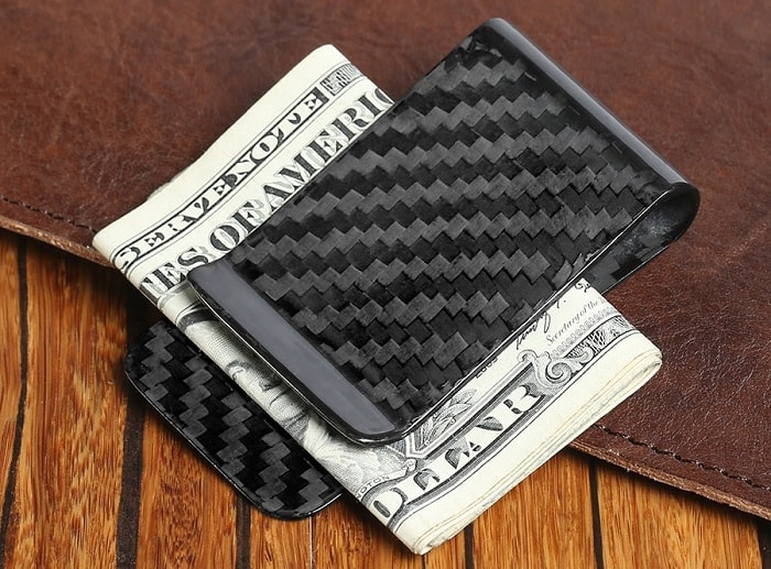 carbon fiber money clip men