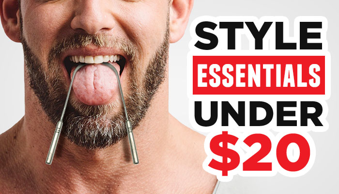 Style On A Budget: 15 Men's Style Essentials Under $20