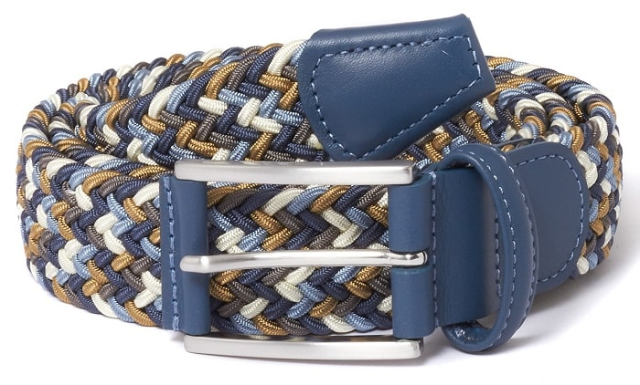 multicolored belt for men