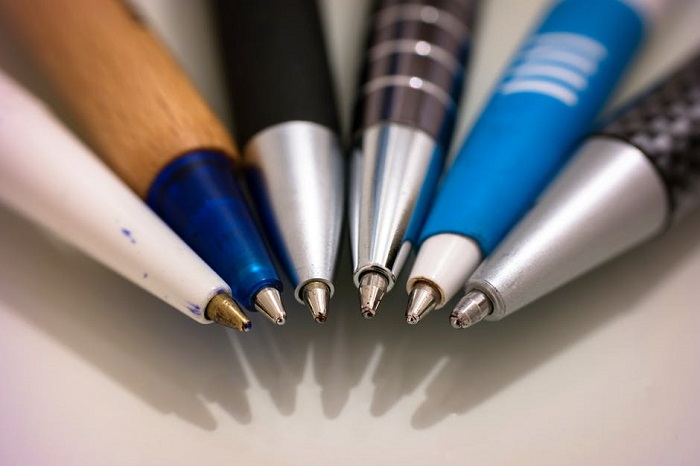 Pens in a group