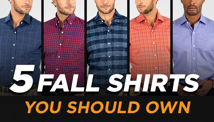 Fall Style: How To ROCK Men's Dress Shirts For Autumn
