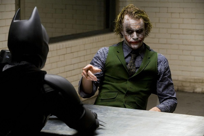 joker batman interrogation