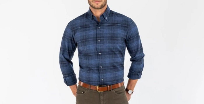 mens fall fashion guide flannel shirt