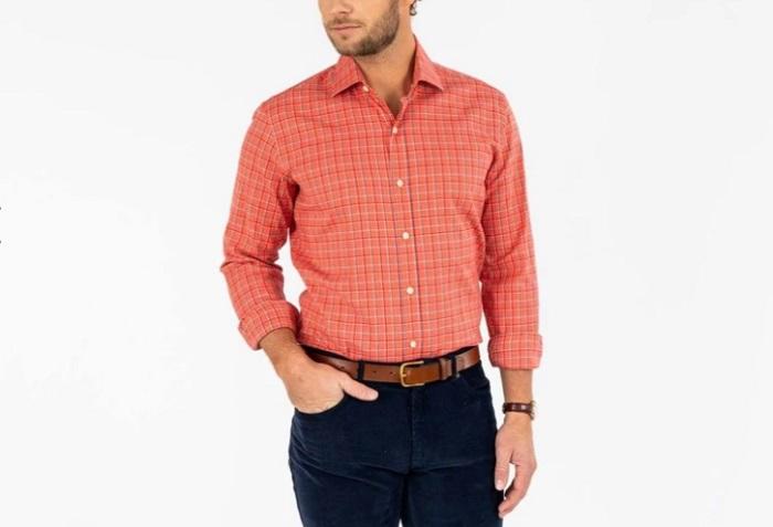 pumpkin ledbury dress shirt