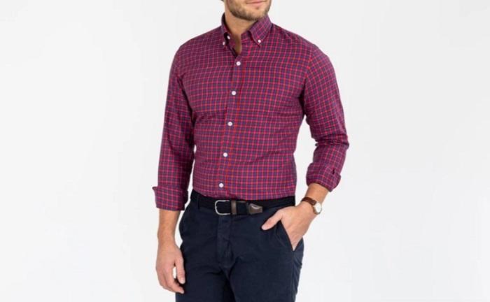 redbury twill dress shirt