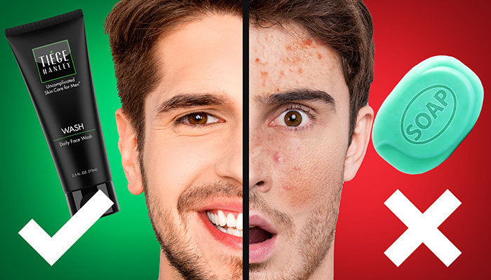 Men's Skincare: 5 Tips To PROPERLY Wash Your Face
