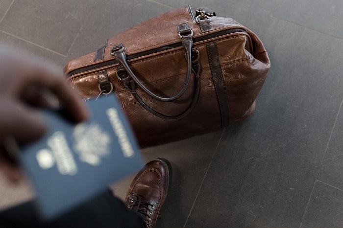 travel bag passport