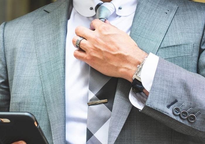 tie clip men