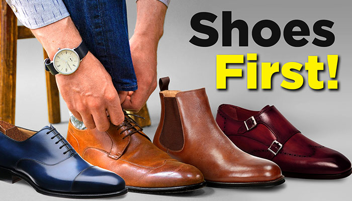 From Shoes To Shirt - Build YOUR Outfit From The Feet Up