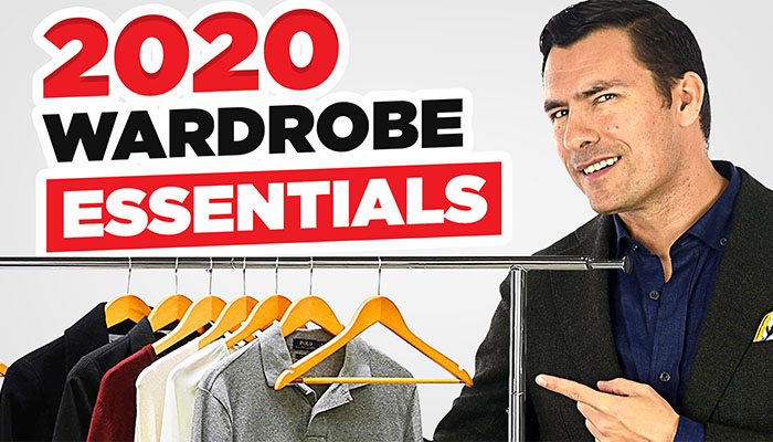 Start The New Year Right 2020 Clothing ESSENTIALS For Men header