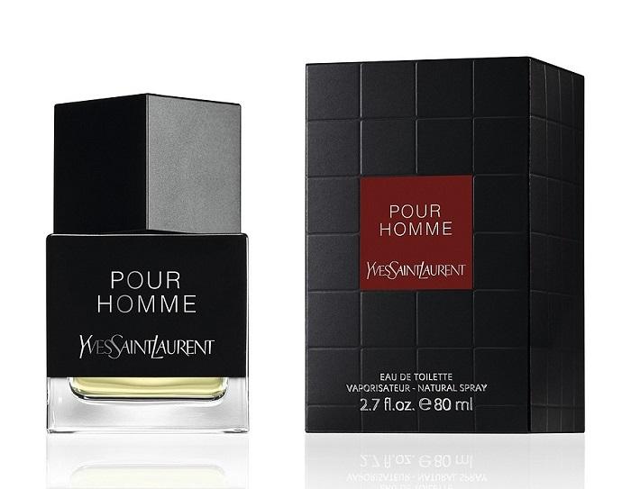 Yves Saint Laurent Pour Homme Eau de Toilette fragrance cologne