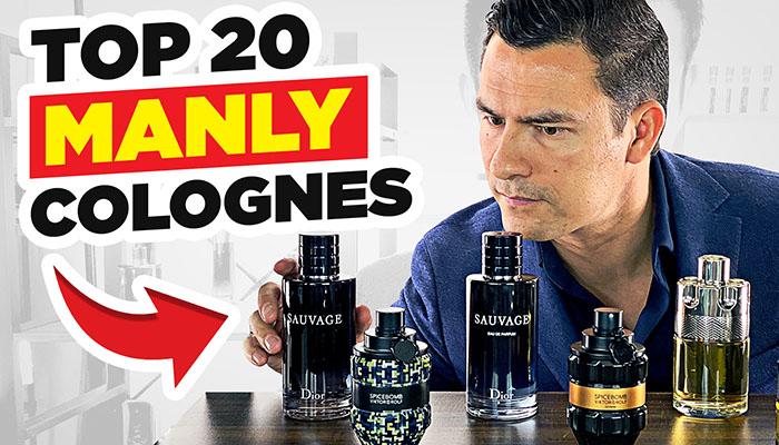 Men's Colognes   Top 20 MASCULINE Fragrances