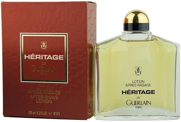 heritage cologne bottle