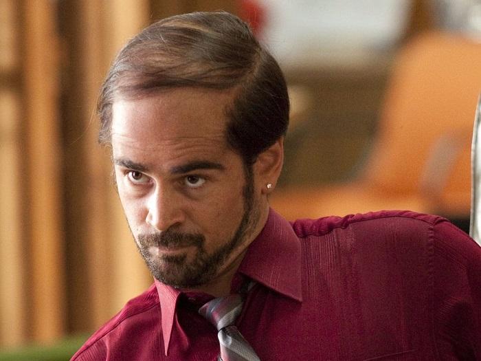 comb over Colin Farrell