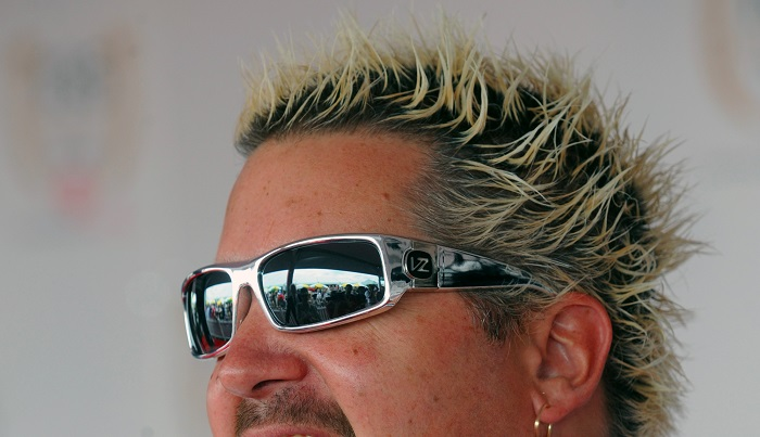 guy fieri frosted tips