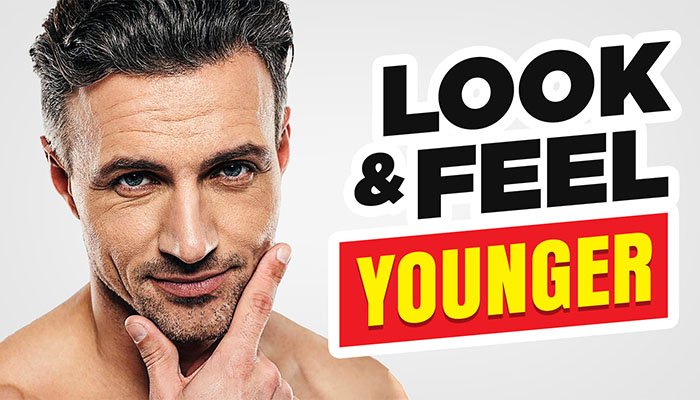 look and feel younger men