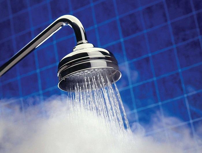 hot shower head