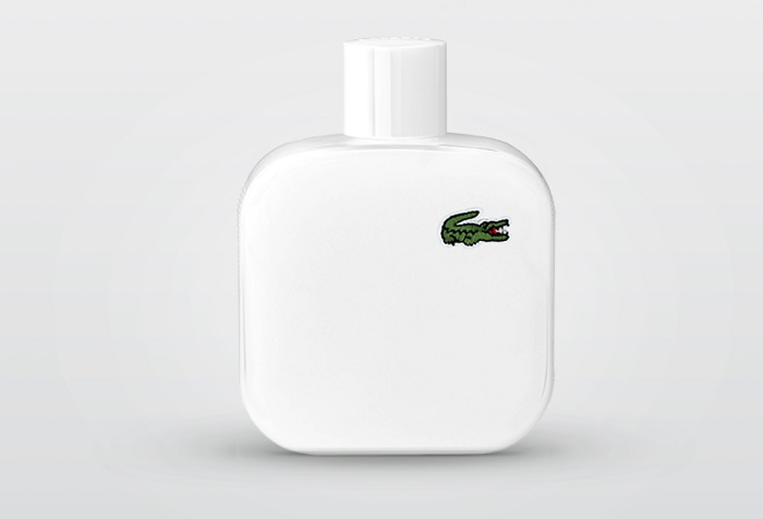 Lacoste fragrance bottle