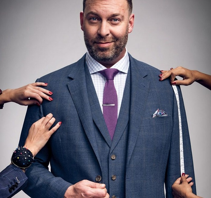indochino ceo being measured