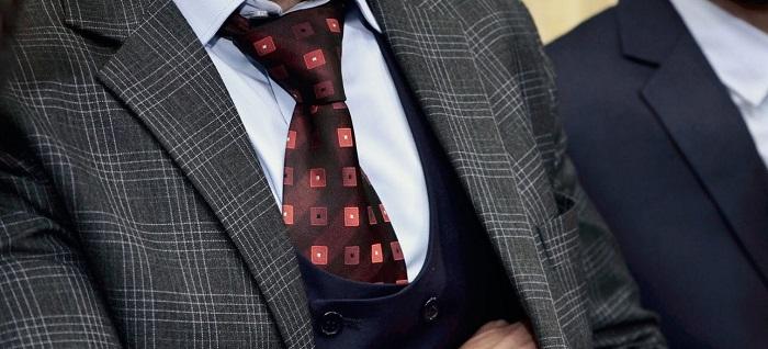 undone necktie