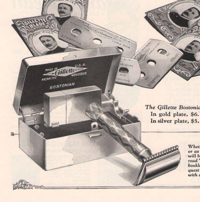 classic Gillette razors