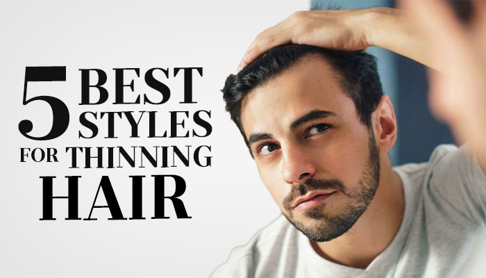 5 Men S Hairstyles For Thin Hair Haircuts For Receding Hairlines