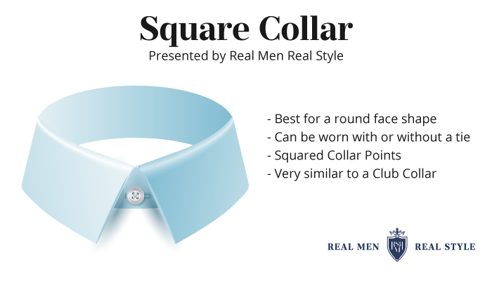 square collar type