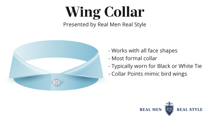 wing collar type
