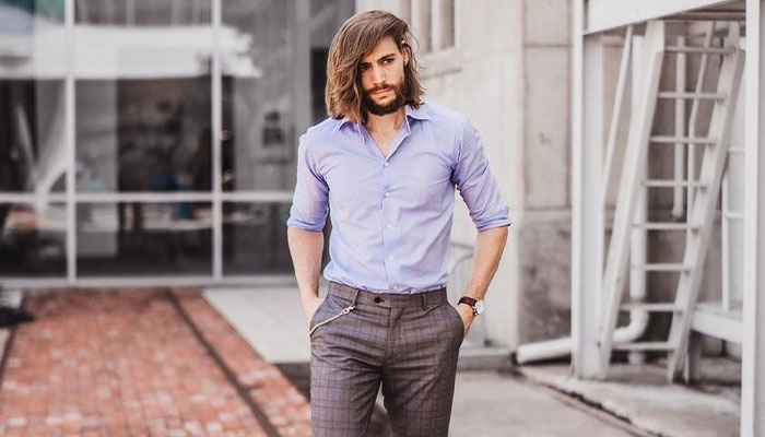 I what like would with long hair men look 11 Guys