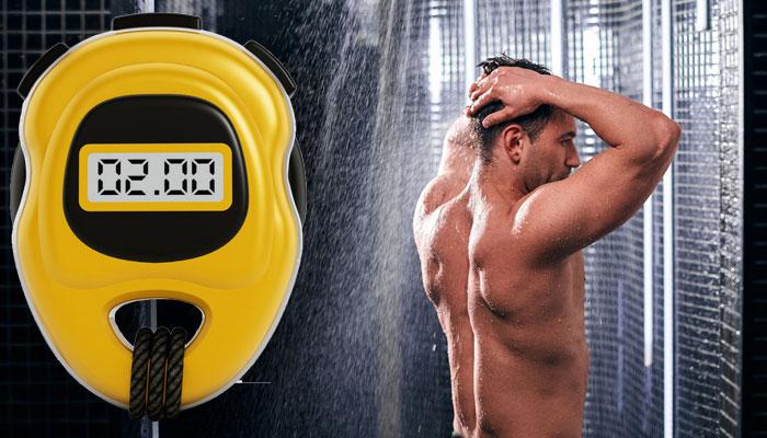 navy shower