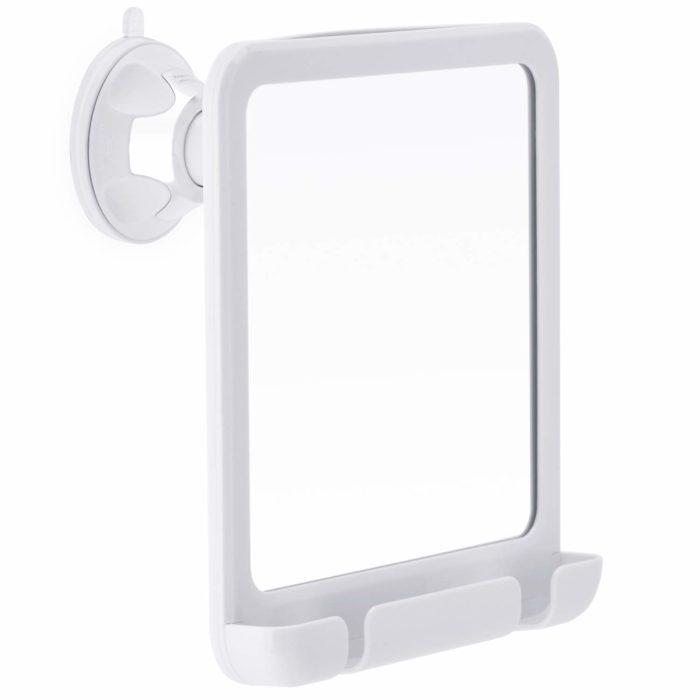 shower hacks pre treated mirror