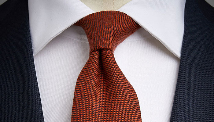 cashmere knitted tie john henric