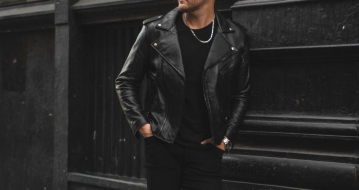 best men's fall jackets leather