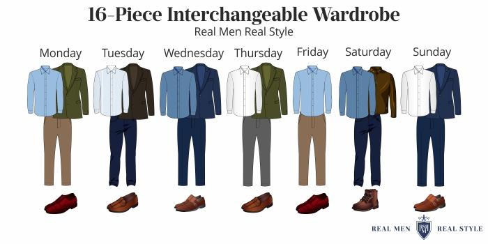 interchangeable wardrobe