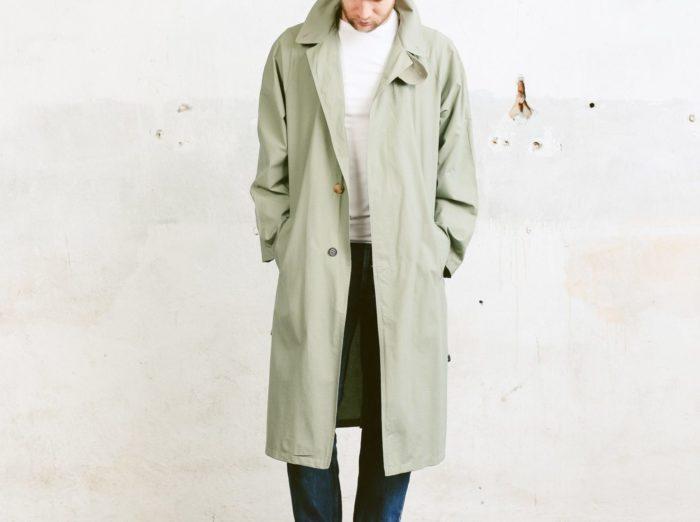 mens fall jackets duster coat