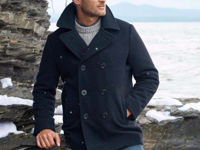 best men's fall jackets peacoat