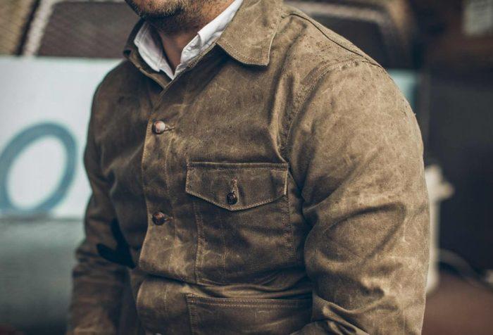best mens fall jackets waxed cotton jacket