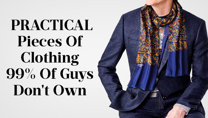 practical clothing pieces for men
