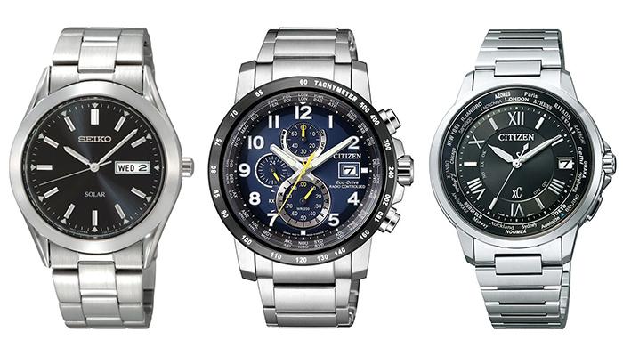 mens solar watches