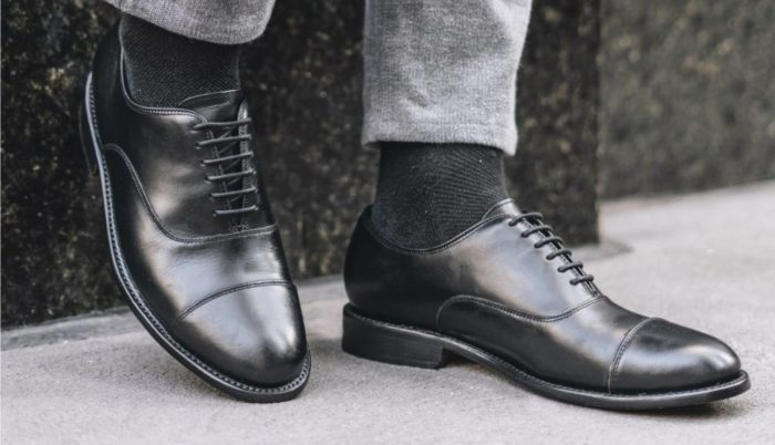 shoes every man should own oxfords