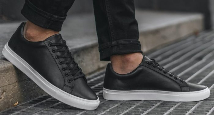 shoes every man should own black sneakers