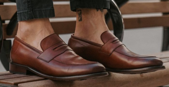 shoes every man should own penny loafers